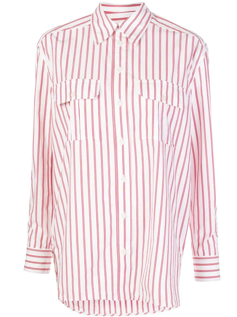 Stripe Cotton Buttondown