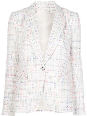 Cutaway Tweed Dickey Jacket