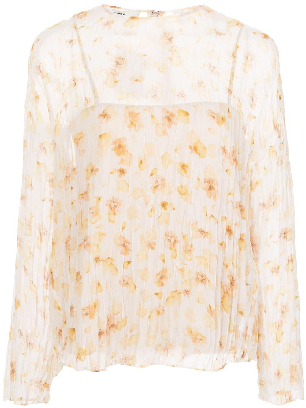 Pressed Petal Blouse Item # V651112287