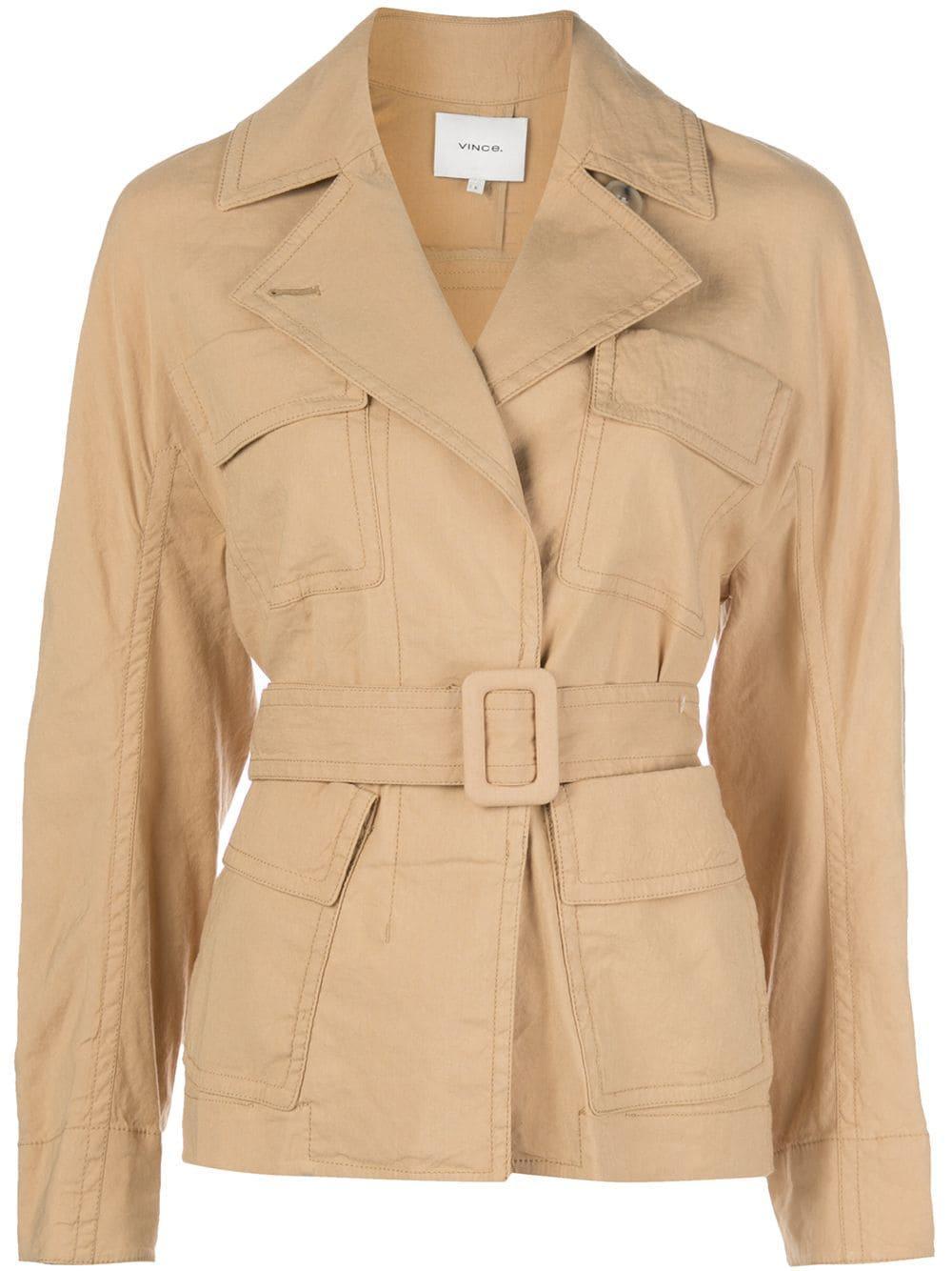 Belted Jacket Item # V652291246