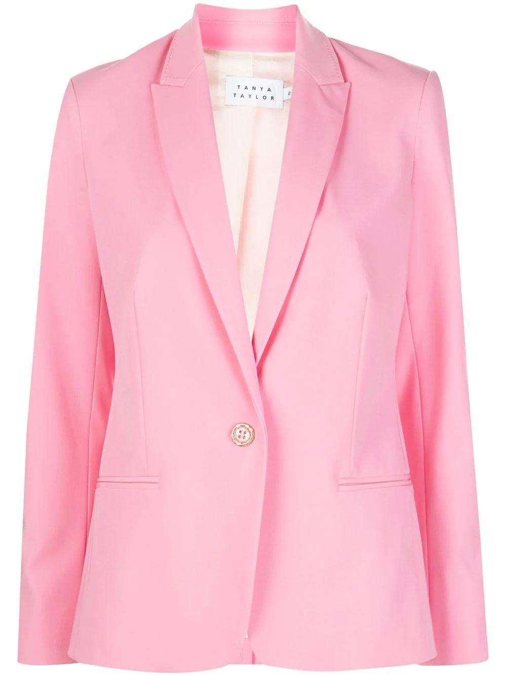 Annalise Single Button Blazer Item # S20J095138