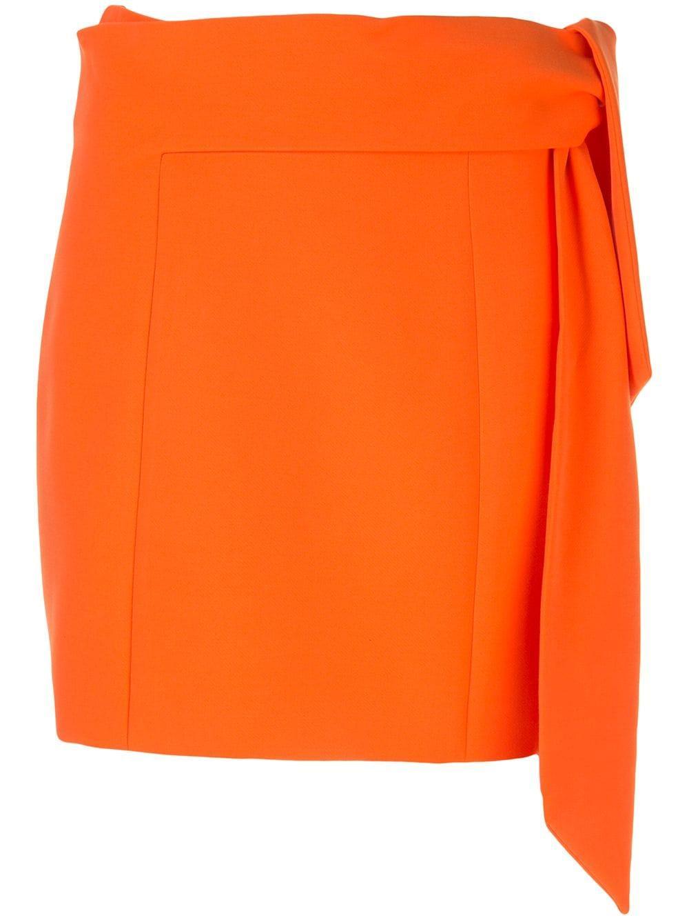 Riva Mini Skirt With Tie Item # CC002213302