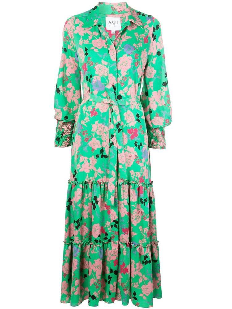 Esmee Floral Maxi Dress Item # OODL7205