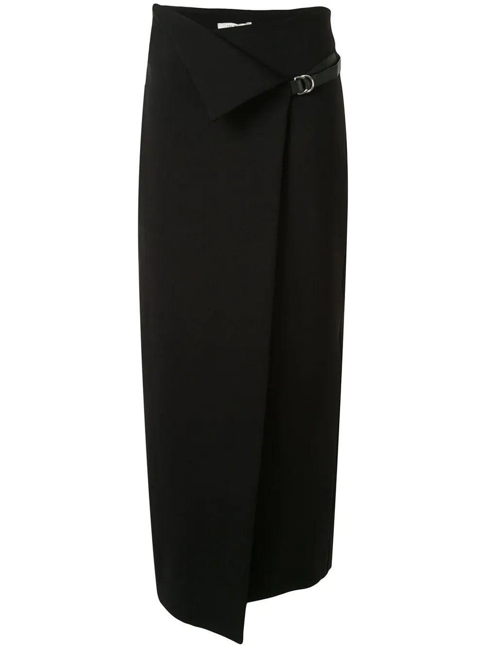 Ogechi Wrap Midi Skirt