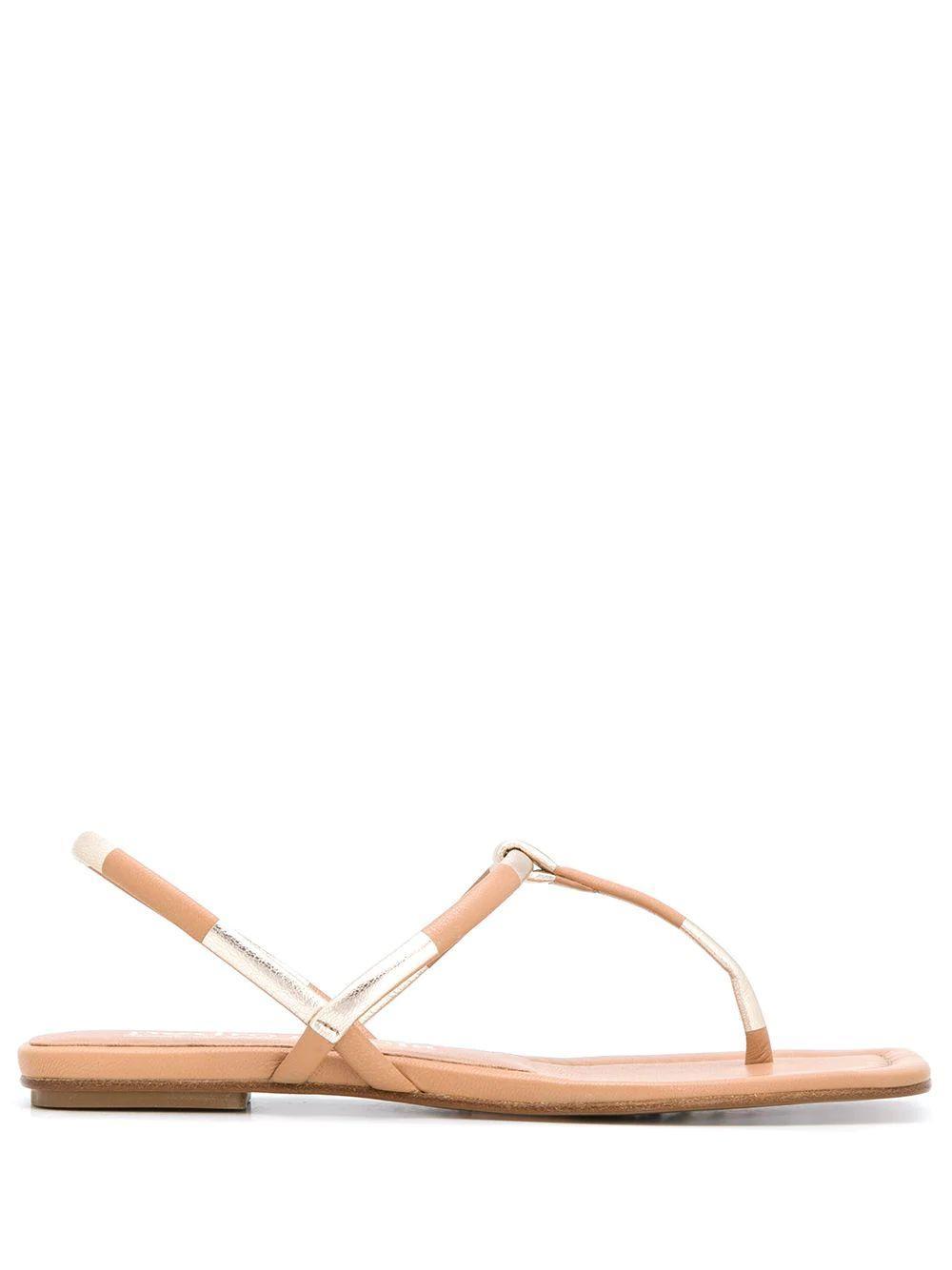 Square Toe T-Strap Sandal