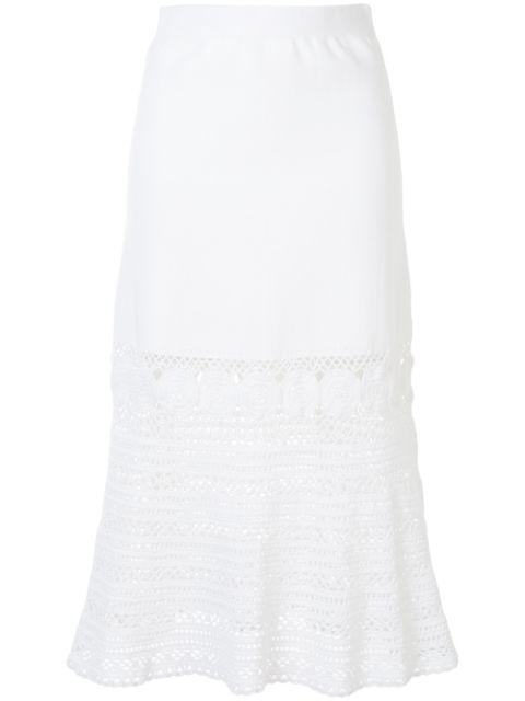 Kiana Cotton Crochet Skirt