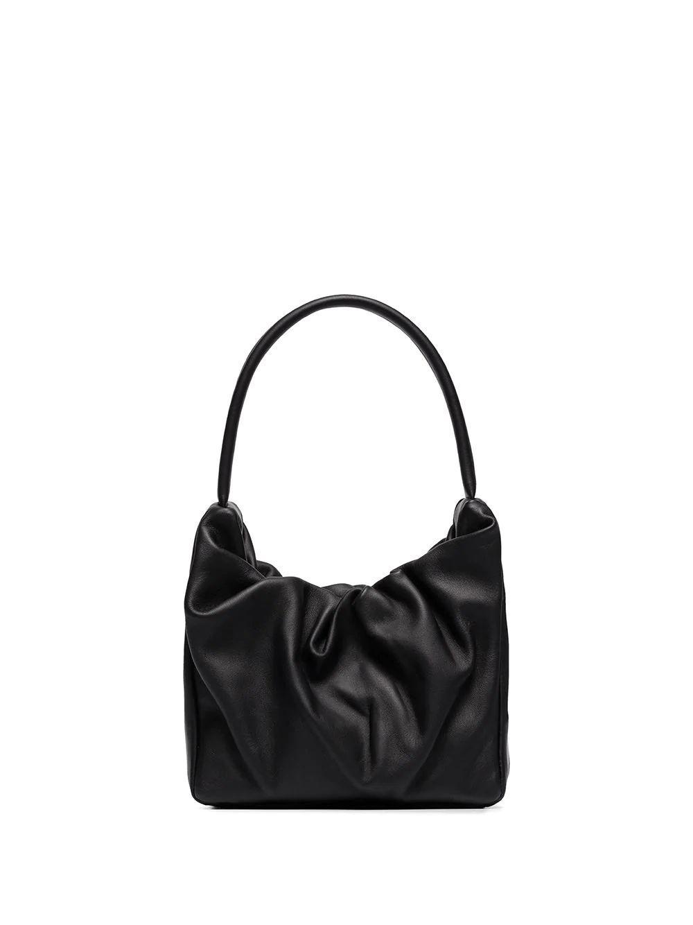 Felix Rouched Bag Item # 207-9217-BLK
