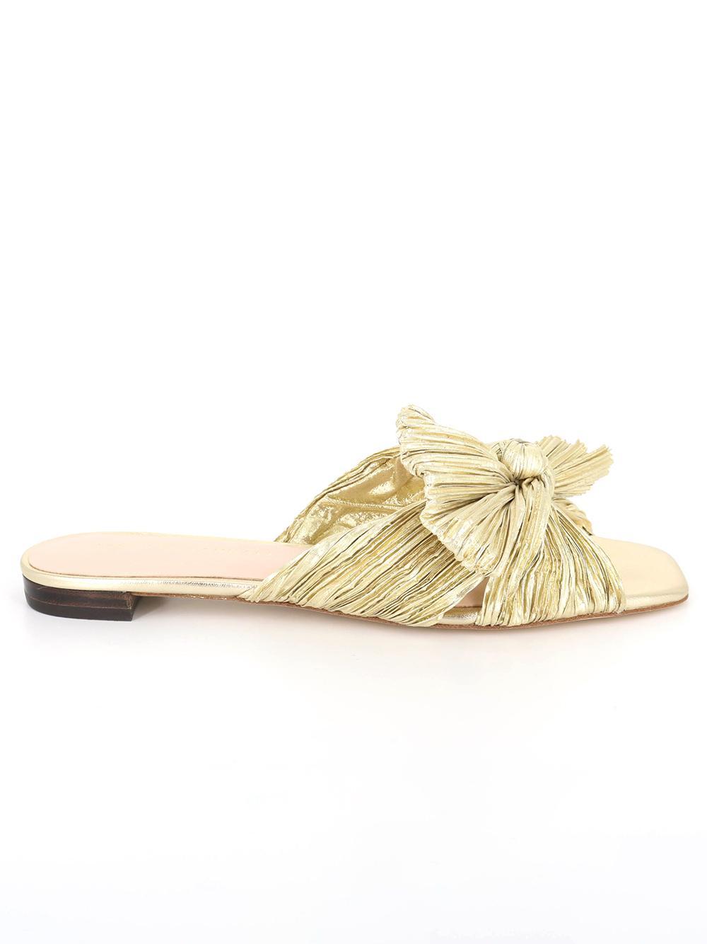 Daphne Knot Flat Sandal