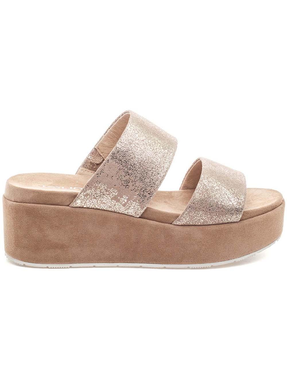 Quincy Suede Platform Sandal