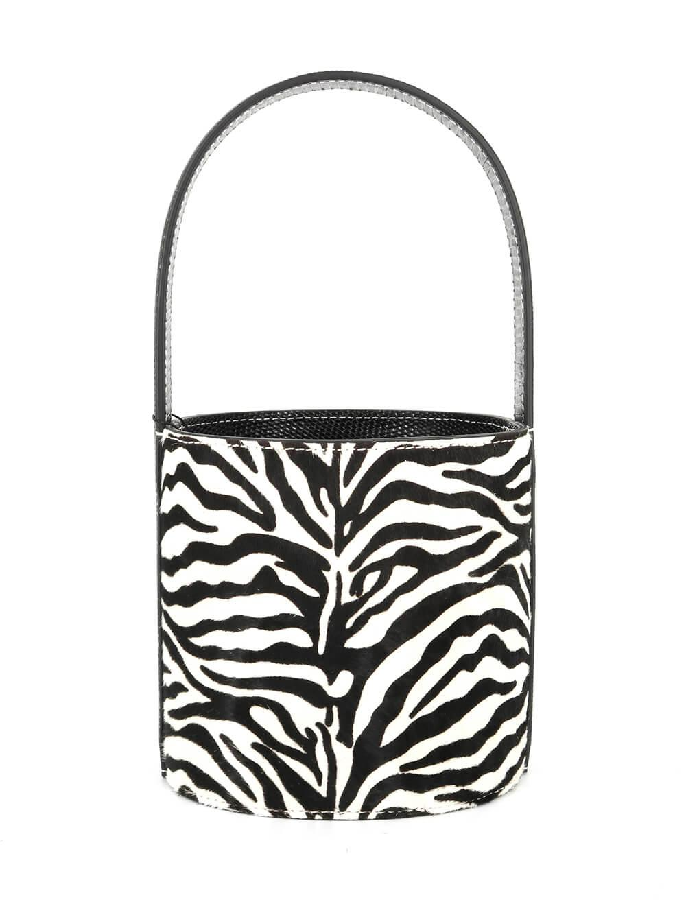 Mini Bissett Zebra Bag Item # 181-9115-ZEBR