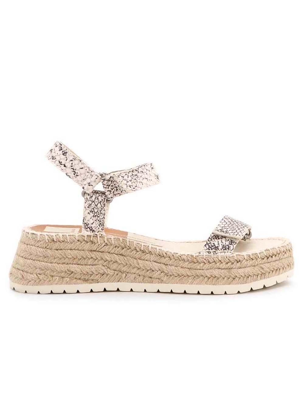 Myra Platform Woven Sandal
