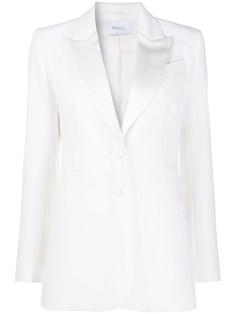 Edward Single Breasted Tuxedo Jacket Item # RS10-J10-W