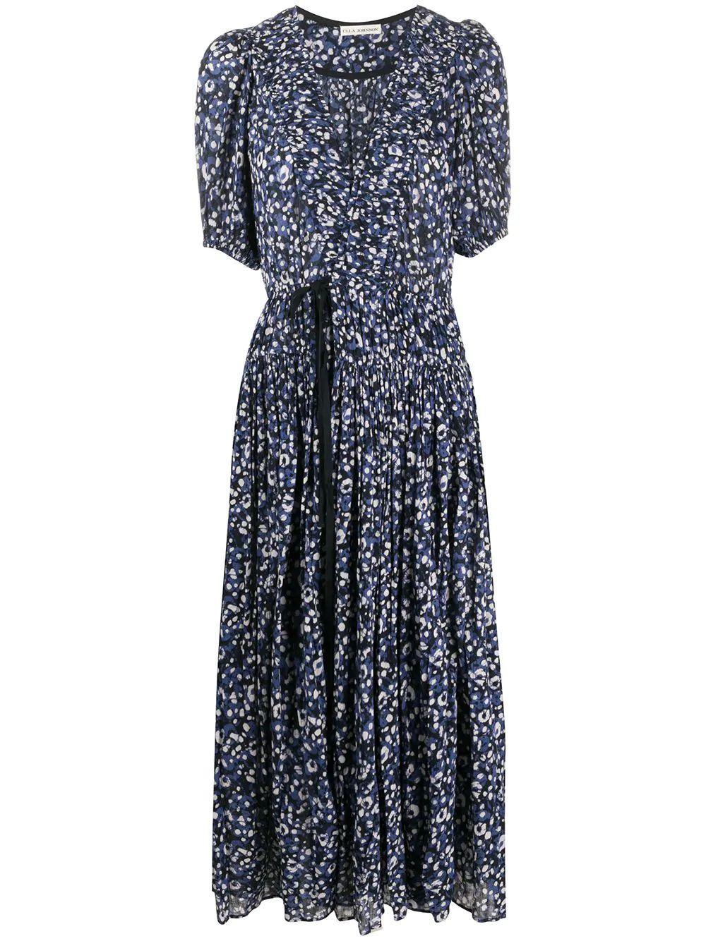 Kemala Printed Long Dress Item # SP200108