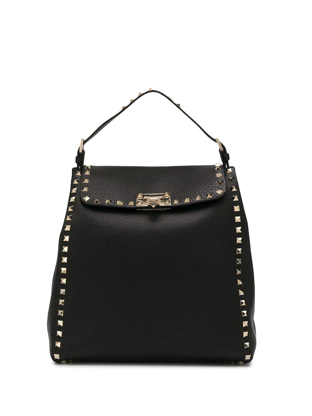 Rockstud Backpack With Platinum Studs