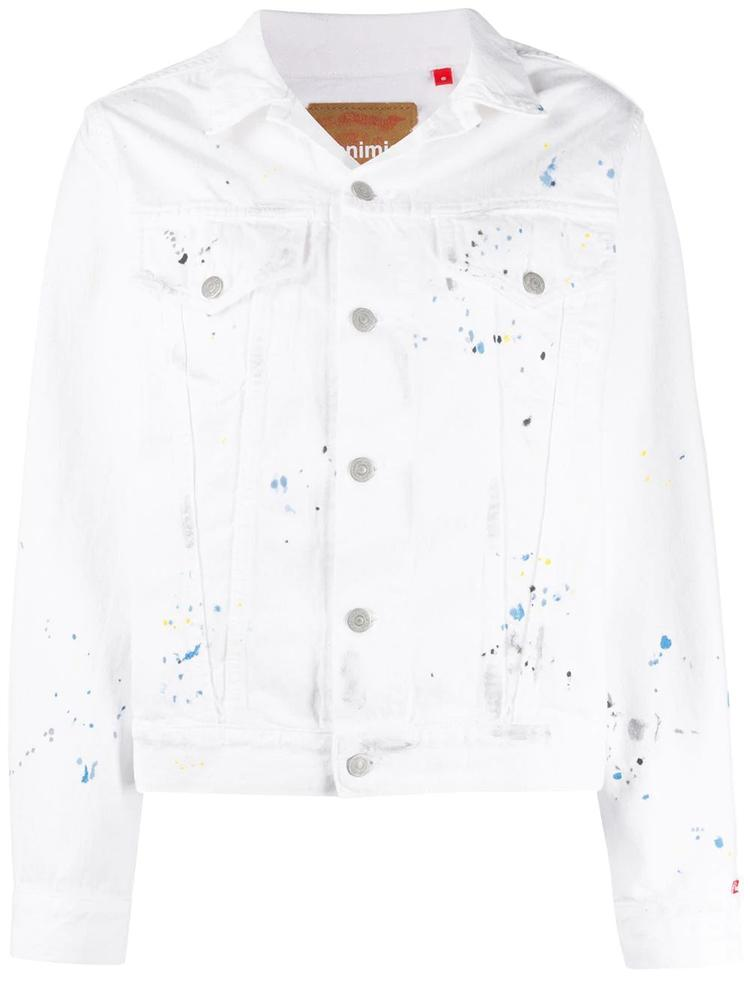Agnes Paint Splatter Jean Jacket