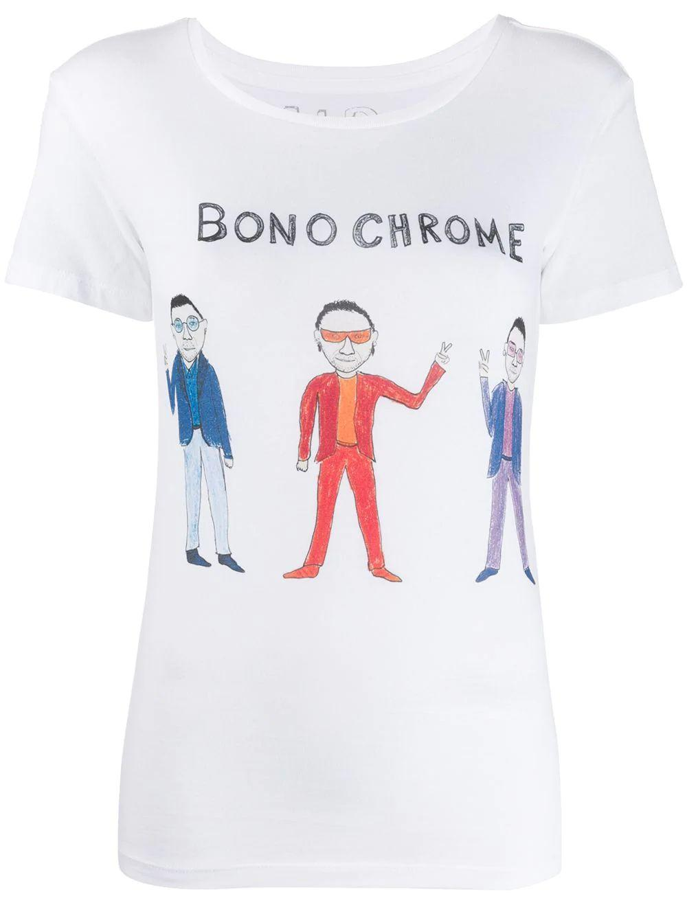 Bono Chrome Graphic Tee