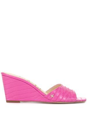 Tesma Croc Wedge Sandal
