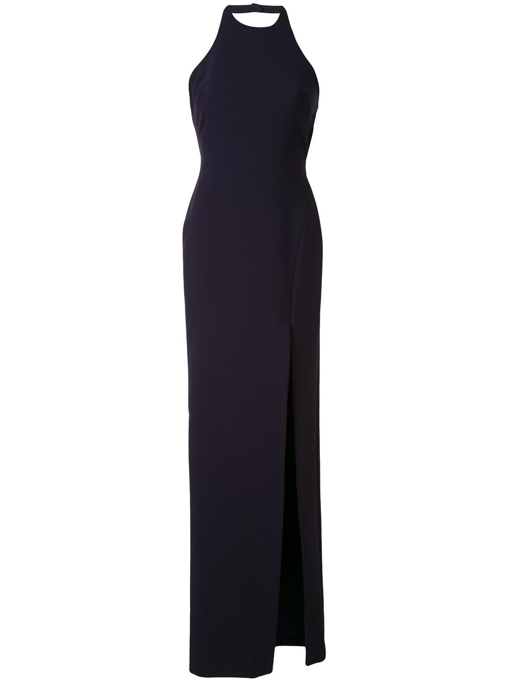 Ferris Side Slit Gown