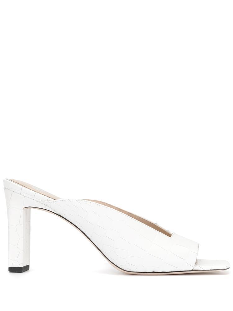 Square Toe Heeled Sandal Item # LENA