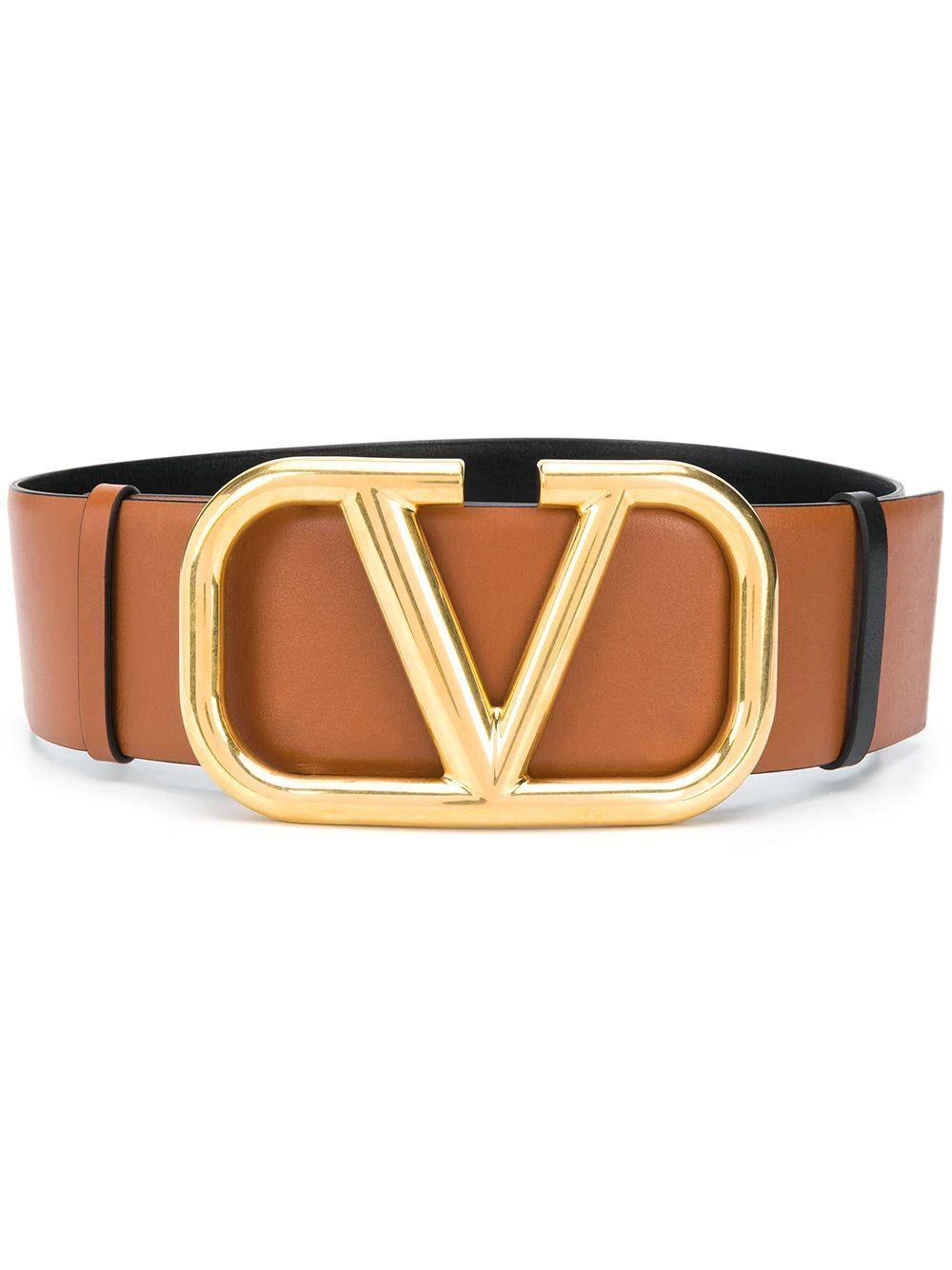 V Logo 70mm Belt Item # TW2T0S10ZFR11J
