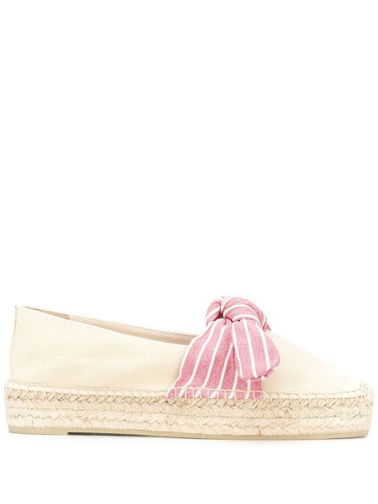 Flat Espadrille With Bow