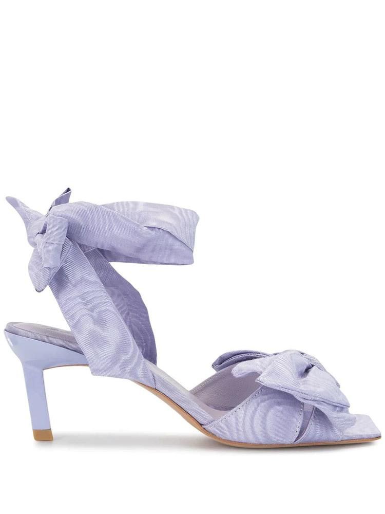 High Heeled Bow Sandal Item # S1114