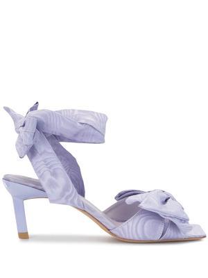 High Heeled Bow Sandal