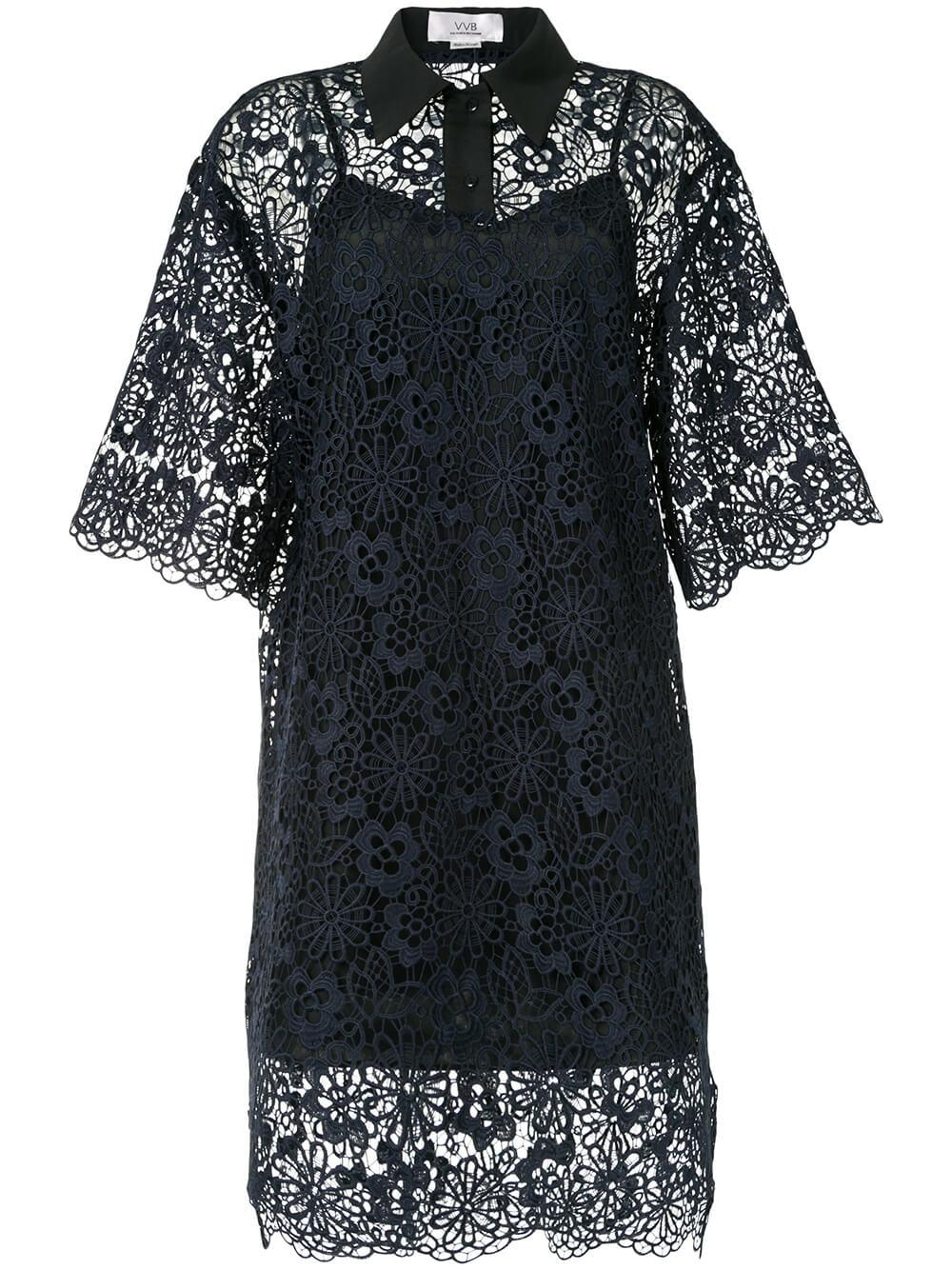Lace Polo Dress