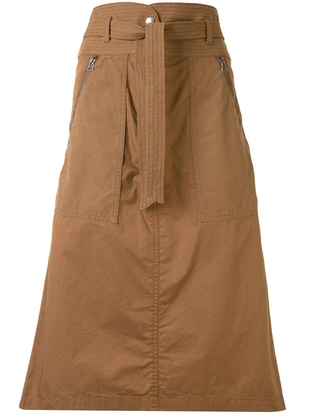 Gabriette Combo Military Skirt