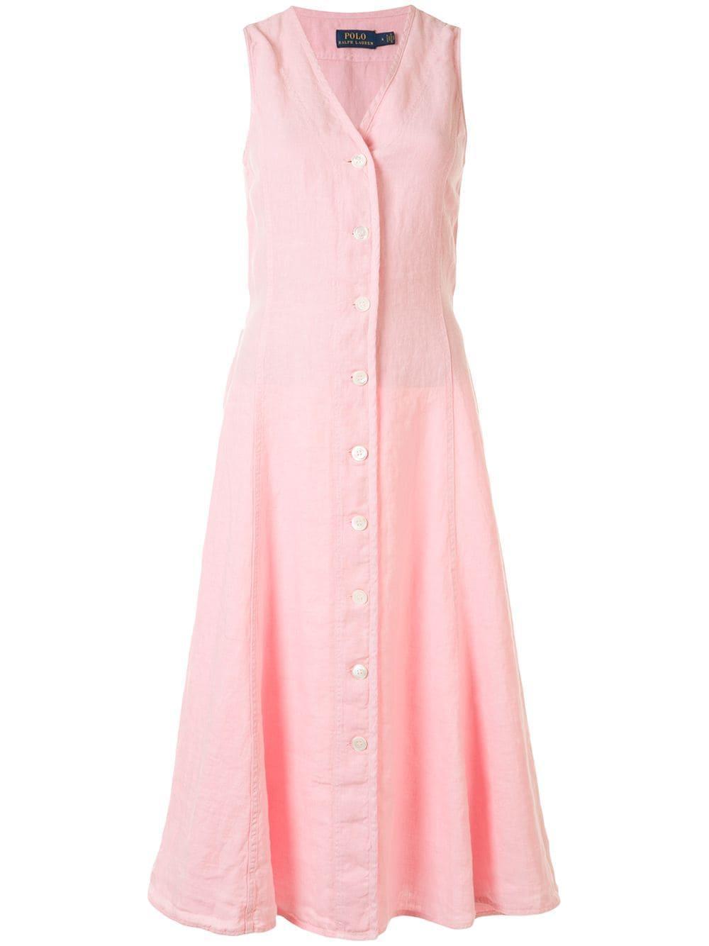 Meg Linen Dress Item # 211792983002