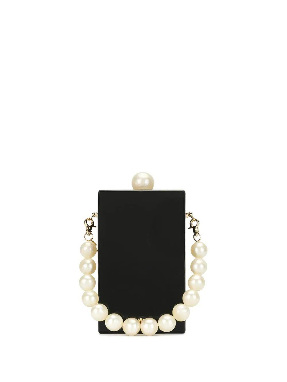 Kingsley Bag With Pearl Strap Item # LSHB015BP