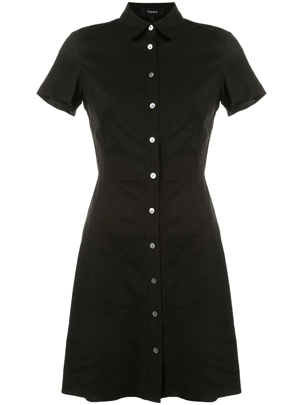 Eco Crunch Shirt Dress