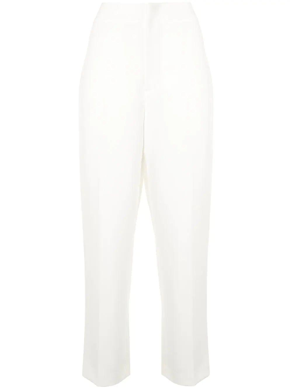 Lorinda High Rise Cropped Slim Pant