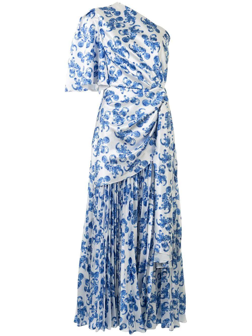 Blake Printed Dress Item # OS26069