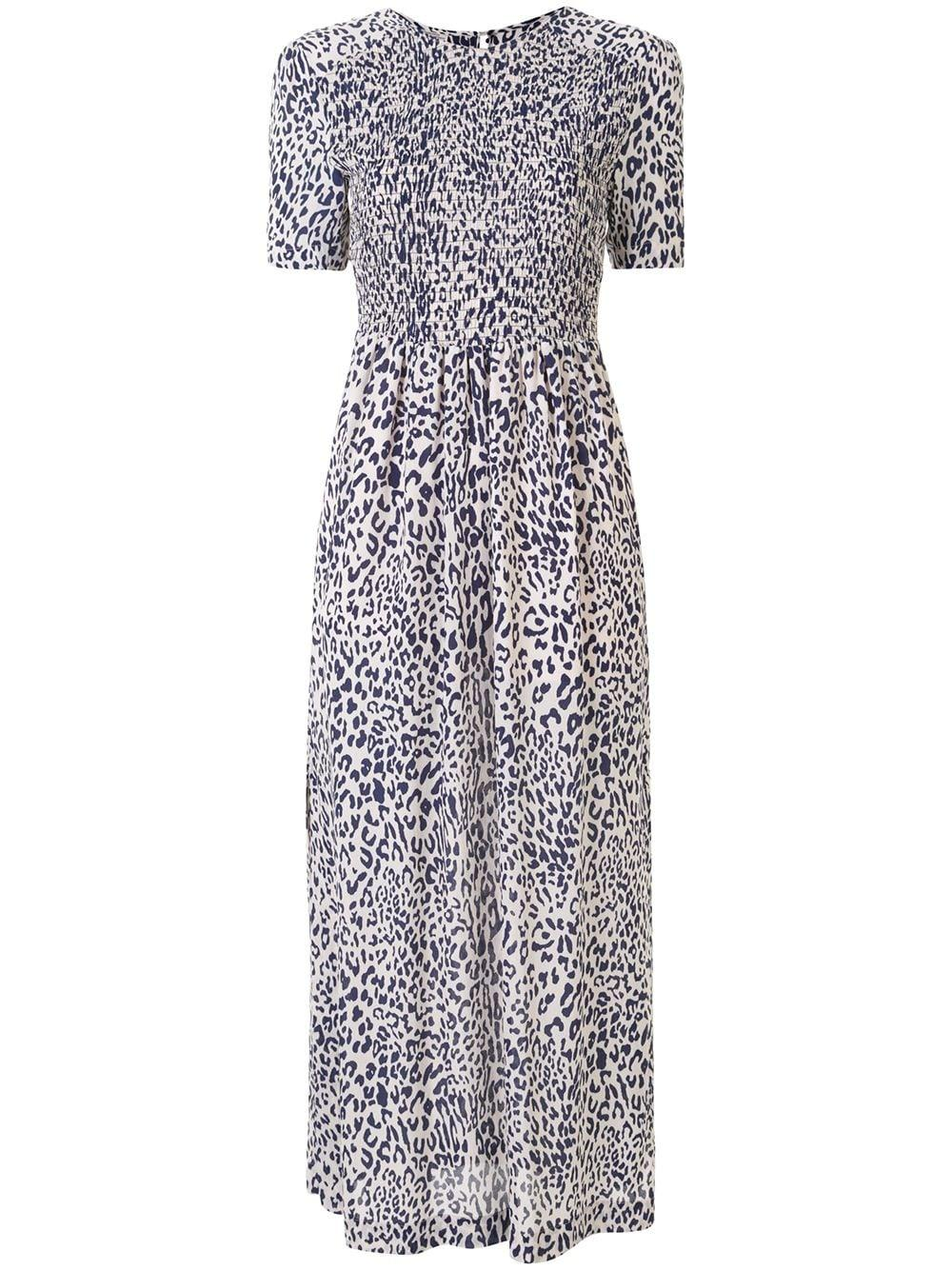 Adamaris Midi Short Sleeve Dress