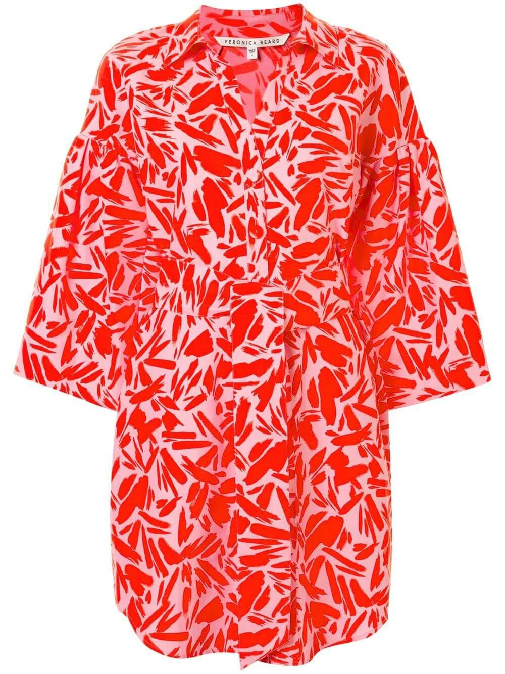 Samy Printed Shirt Dress