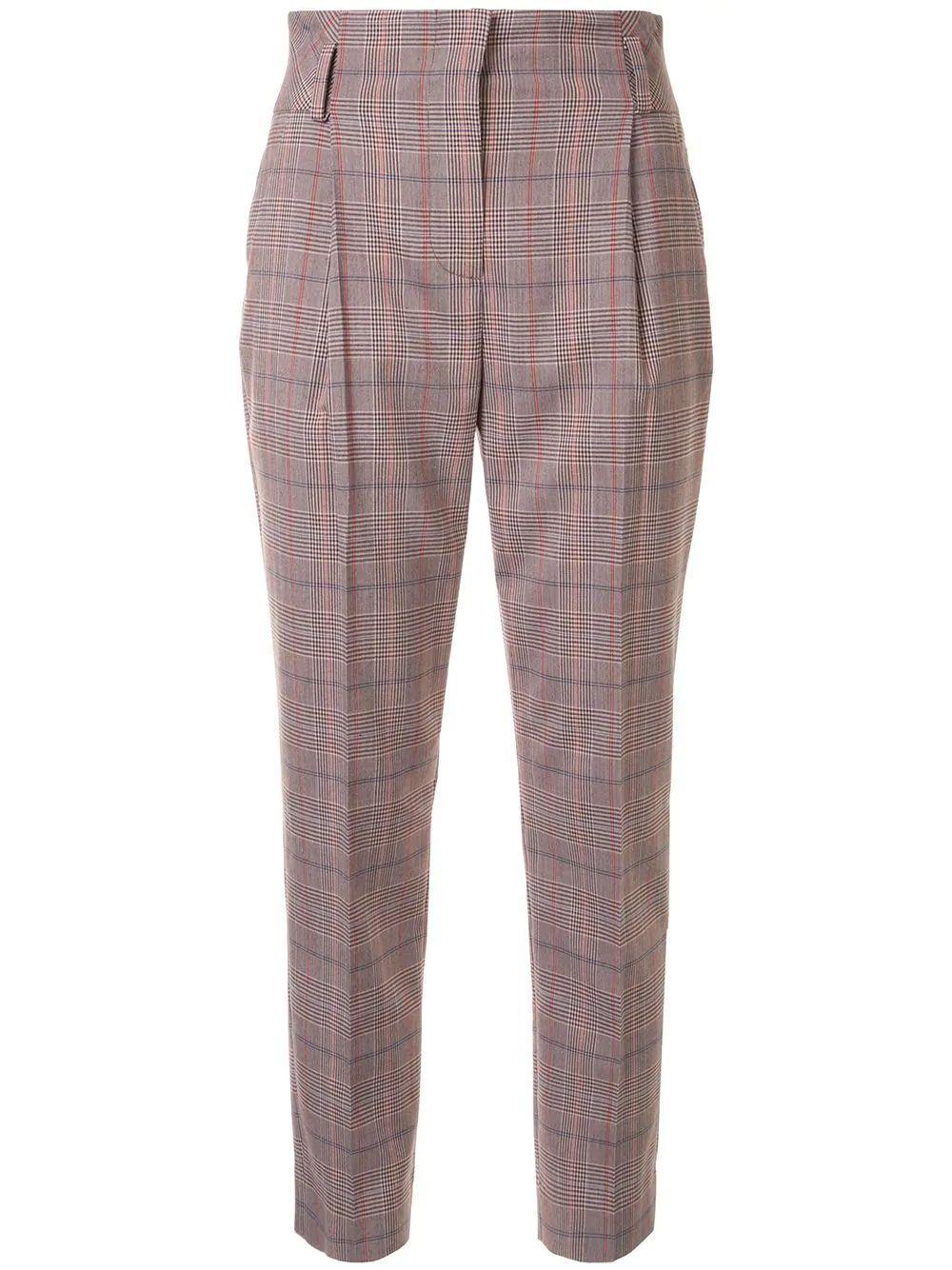 Plaid Trouser Item # S20101500