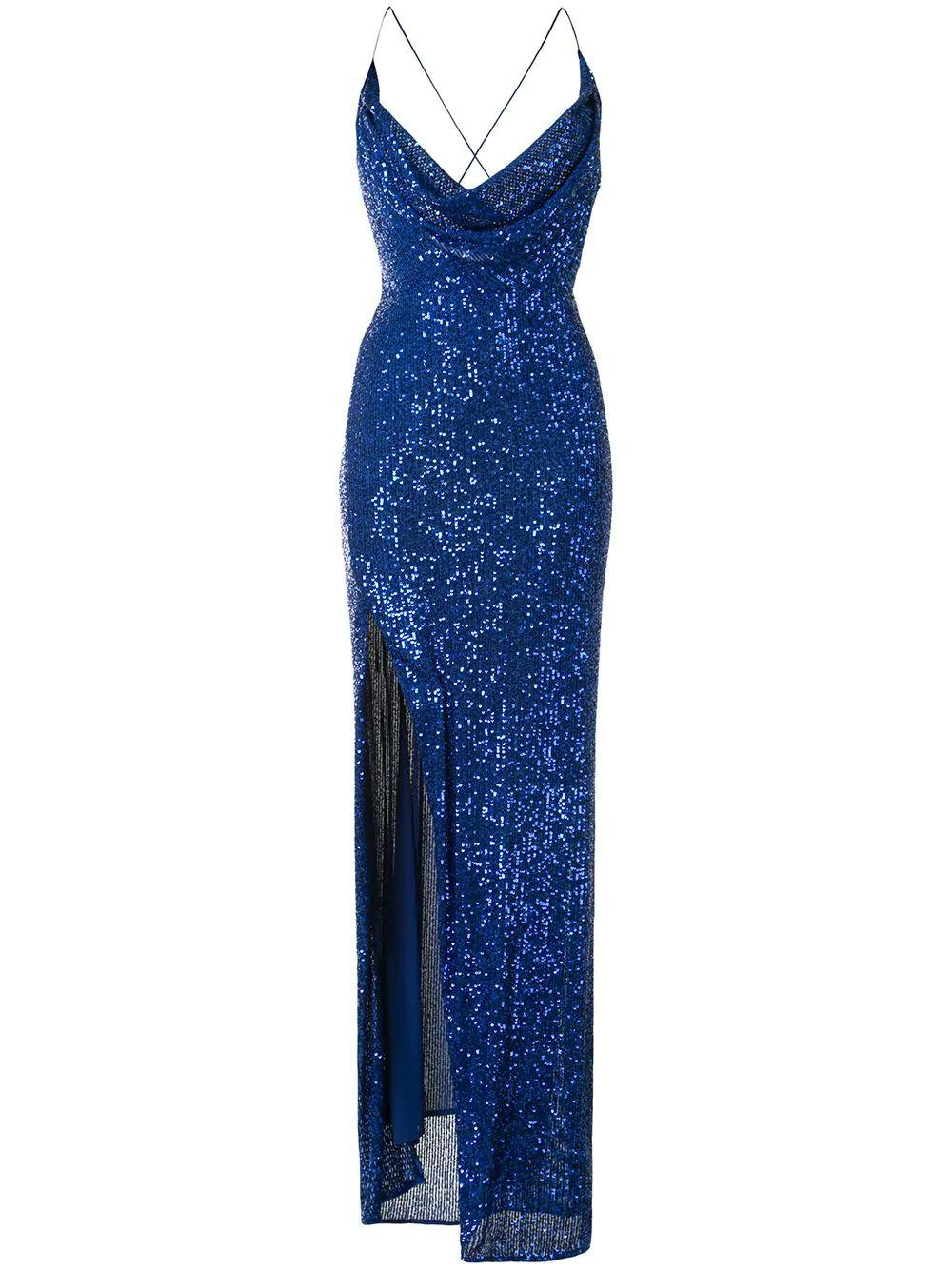 Milena Sequin Gown