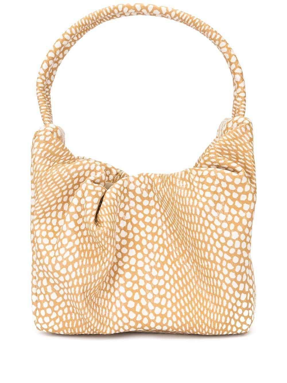 Felix Snake Print Bag Item # 219-9217-FAWN