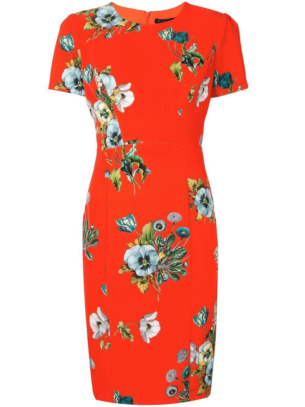 Jodee Floral Sheath Dress Item # 7662142
