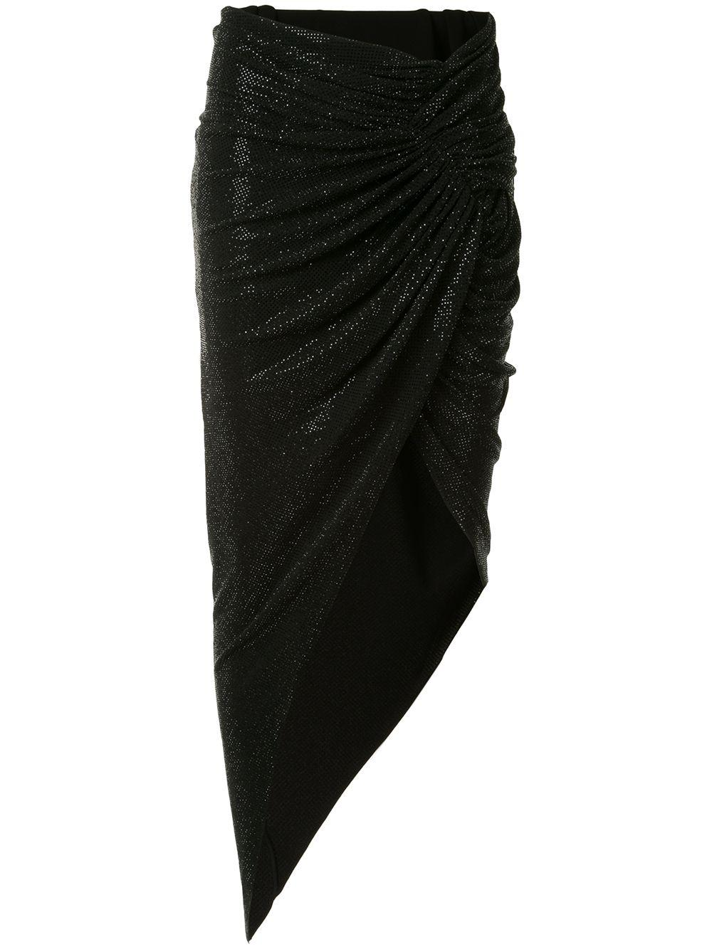 Microcrystal Jersey Skirt