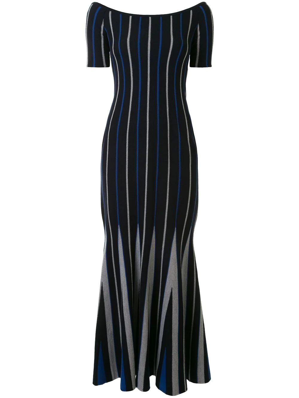 Medea Striped Knit Dress