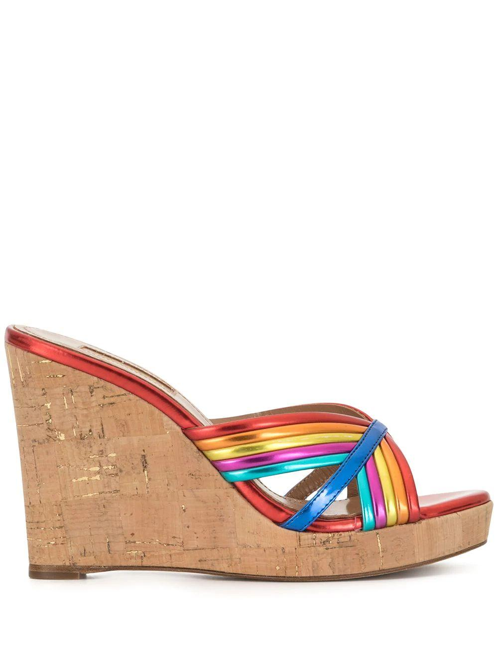 Sundance 105mm Wedge Sandal