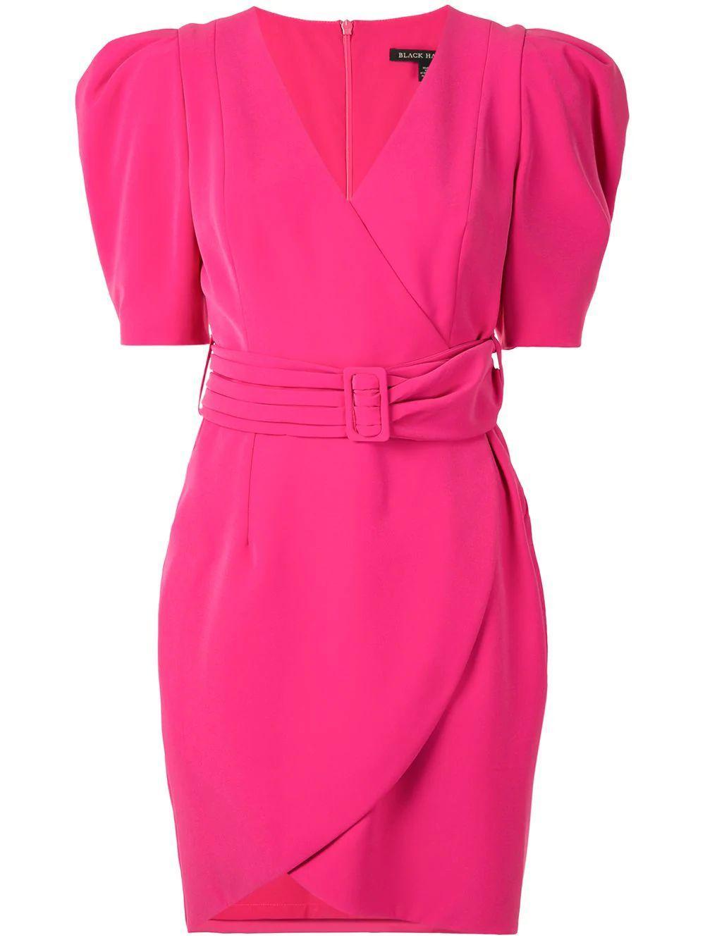 Maricopa Puff Sleeve Belted Dress Item # 6602339