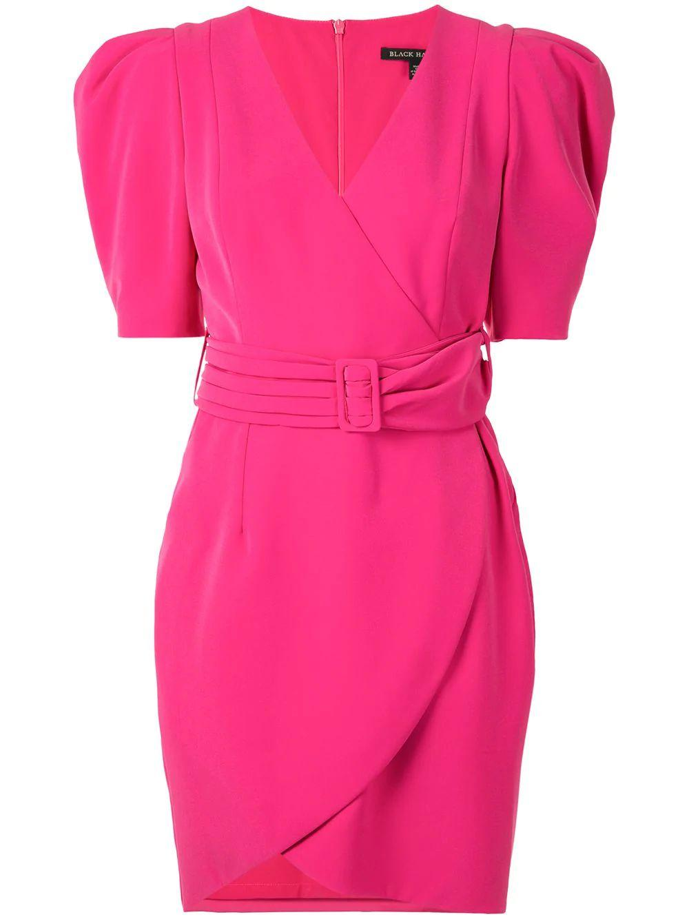Maricopa Puff Sleeve Belted Dress