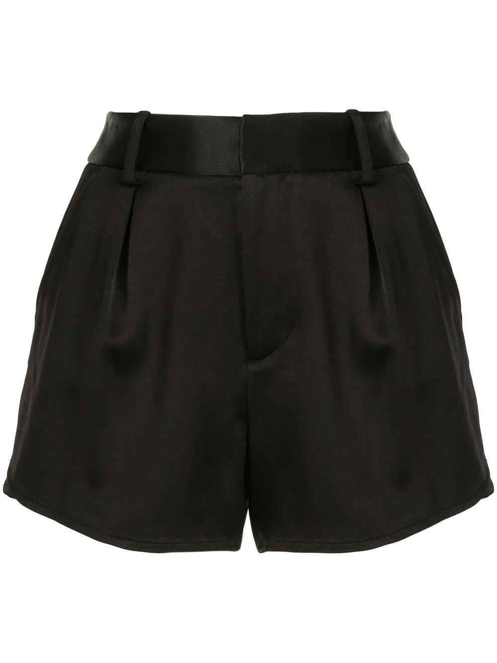 Alden High Waisted Satin Short