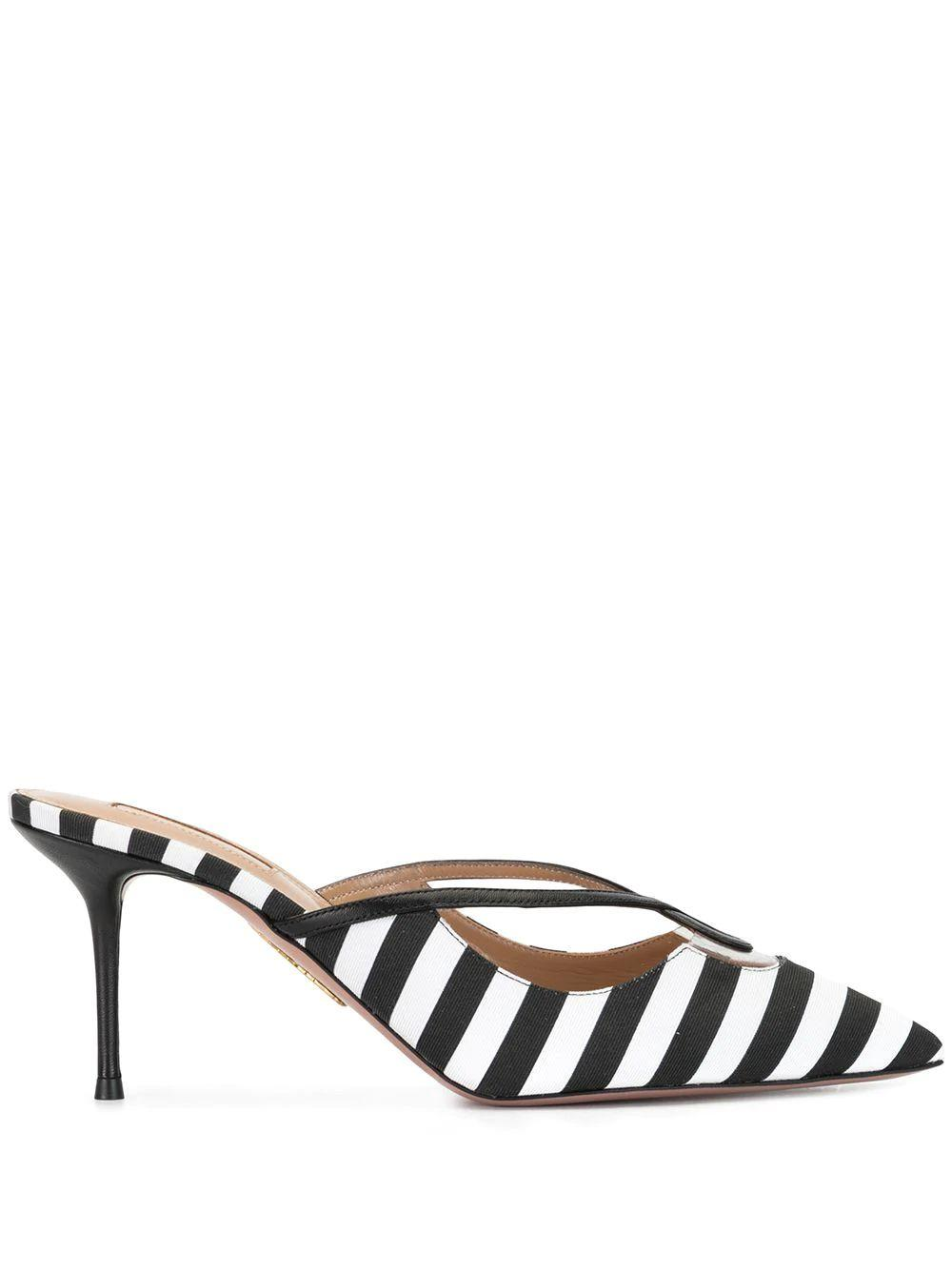 Villa 75mm Striped Mule