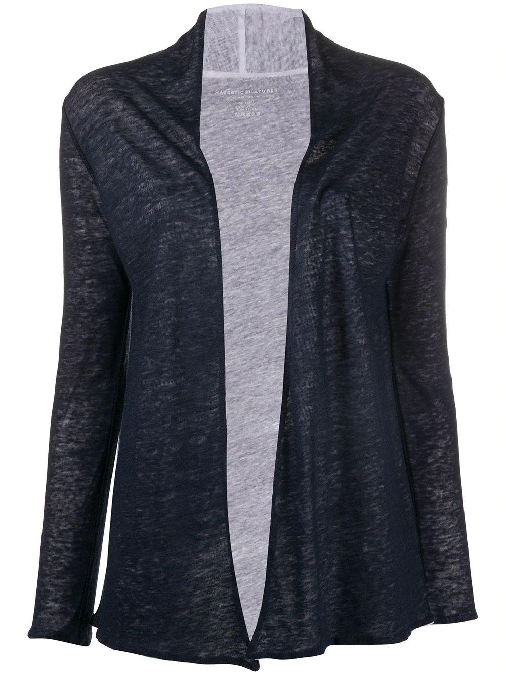 Linen Tencel Double Layer Cardigan