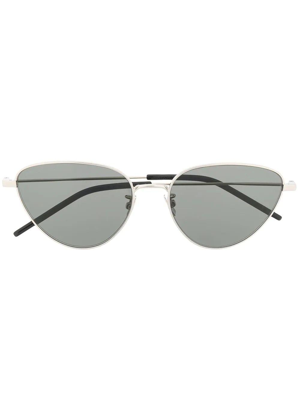 Cat Eye Silver Frame Sunglasses