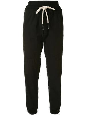 Utility Cotton Jersey Pants